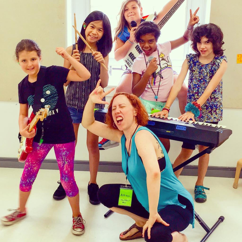 Girls-Rock-Camp